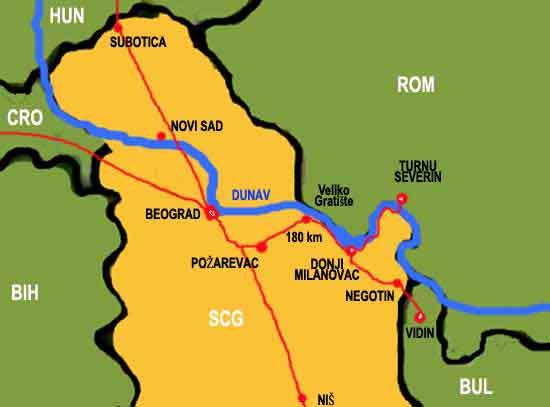 mapa srbije lepenski vir INFORMACIJE mapa srbije lepenski vir